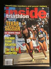 Inside Triathlon magazine August 2000 Escape from Alcatraz, and Art of Tapering