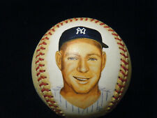Vintage Whitey Ford HOF NYY autographed Hand Painted baseball PSA DNA