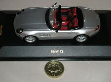 ixo Models MOC076 BMW Z8 Convertible Sports Car 2001 Silver Diecast Model 1:43