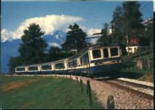 14x postcard set MOB Montreux-Berner Oberland Switzerland original and re-issues