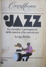 """H3  OSCAR MUSICA """"JAZZ"""" - ARRIGO POLILLO - OSCAR MONDADORI 1983"""