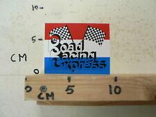 STICKER,DECAL ROAD RACING EXPRESS FINISH FLAG MOTO GP GRAND PRIX RALLYE  ?