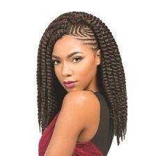 Perruques, extensions et matériel noirs moyens ondulés pour femme
