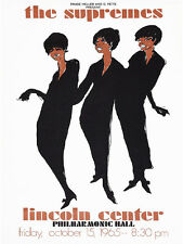 1965 The Supremes Concert High Quality Metal Magnet 3 x 4 inches 9468