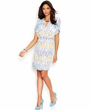 Jessica Simpson Print Blouson Women's Dress, Size 6