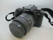 Mint Sigma Sa-9 Qd 35mm Slr Film Camera Very Clean Fully Tested