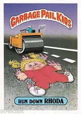 1986 TOPPS GARBAGE PAIL KIDS 1ST SERIES GIANT #31 RUN DOWN RHODA NM CONDITION