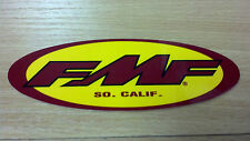 FMF, Sweet Racing Sticker, Cool Colors, Southern California, Oval, 4-3/4 x 1-3/4
