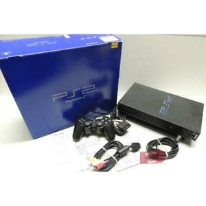 PlayStation 2 PS2 TESTED SCPH-50001 with Memory Card and Cables. WARRANTY