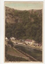 Cheddar The Cliffs Valley Vintage Postcard 633a