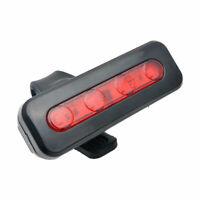 Luz USB 4 LEDs para Bici Trasera y Laser de Carril Bicicleta de Seguridad kit ES