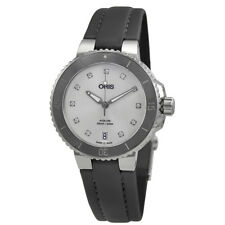 Oris Aquis White Dial Automatic Ladies Watch 733-7731-4191MB