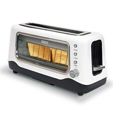 Dash Clear View Toaster Extra Wide Slot Toaster with Stainless Steel Accents +