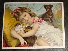 graphic Victorian trade card advertising Scott's Emulsion