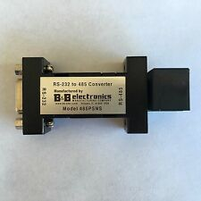 (NEW) RS-232 to 485 Converter - B&B Electronics 485PSNS RS-485 - TIA-485 EIA-485