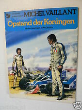 DUTCH COMIC MICHEL VAILLANT OPSTAND DER KONINGEN OBERON 1977