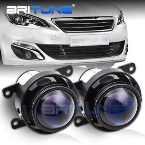 Bi-xenon Fog Lights Projector For Peugeot 207 208 2008 308 3008 407 508 H11 Lens
