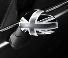 MINI Genuine Union Jack UK/British Flag Wing Mirror Cap Black Right 51162147676