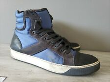 Lanvin High Top Blue Sneakers size: us 9