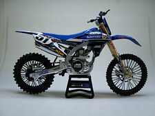 Yamaha Team Factory USA Justin Barcia - 1:12 Scale motocross model NEW RAY