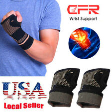 Copper Confused Wrist Support Brace Hands Carpal Tunnel Thumb Arthritis Protect
