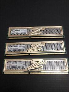 6GB (3x2GB) OCZ Obsidian DDR3 1600 DIMMs Triple Kit PC3-12800U OCZ3OB1600LV6GK