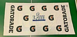 Super Bowl LIII (53) Gatorade Sideline Towel - Patriots vs. Rams