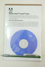 NEW Adobe Acrobat 8 Standard Windows Disc with Serial Number Dell 0WN545