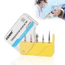 5pcs/set Dental High Speed Diamond Burs Orthodontic Interproximal enamel kit
