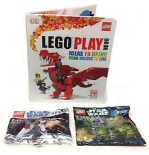 LEGO idee PLAY BOOK + 2 STAR WARS nave insaccate KIT SET, un grande regalo!