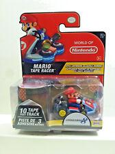 Jakks World of Nintendo MarioKart 8 MARIO TAPE RACER.  Collectible Figure.
