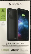 MOPHI JUICE PACK ACCESS BATTERY CASE iPHONE Xs MAX BLACK BRAND NEW IN BOX