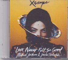 Michael Jackson&Justin Timberlake-Love Never Fells So Good Promo cd single