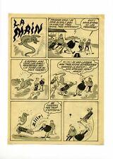 BD ancienne / planche de bande dessinée des années 70 / La main