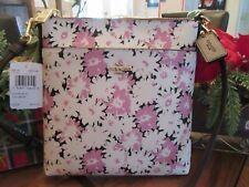 Coach 89519 Leather Wildflower Daisy Print Kitty Messenger Crossbody Purse