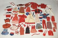 Barbie vintage 70s-80s Clothes Dresses Shoes Hats Purses Lot Red White & Blue