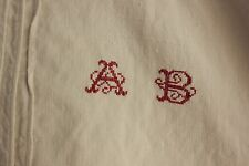 Linen French chemise nightdress AB SOFT linen monogram pure linen