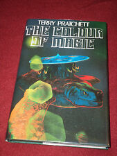 Colour of Magic by Terry Pratchett (2004, HC) Hill House SIGNED facsimile first