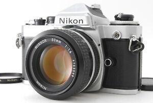 Near MINT/ NIKON FE + Ai 50mm F1.4 SLR Film Camera from Japan #1359