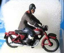 P&D Marsh Motorcycle & Rider - Painted & Ready to Use! - OO Gauge - PDZ103 Z103