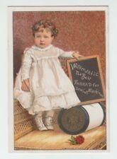 [66094] 1880-1890's TRADE CARD for WILLIMATIC SIX CORD SPOOL COTTON