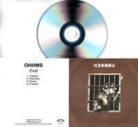 OHHMS Exist 2018 UK 4-trk promo test CD