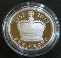 The Longest Reigning Monarch Sterling Silver Proof £5 2015 Coin Boxed + COA