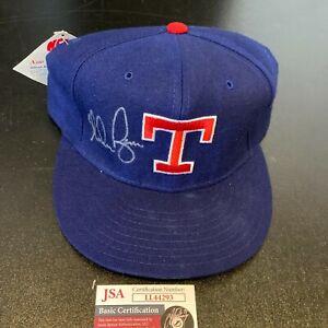 Nolan Ryan Signed Texas Rangers Game Model Hat With JSA COA