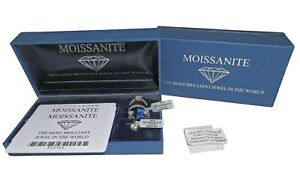 MOISSANITE JEWELLERY SUITE W/BOX AND CARDS APX 3.50CT RETAIL APX £1500 BARGAIN!!