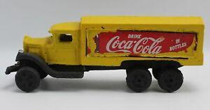 Vintage Reproduction Cast Iron Truck Coca Cola