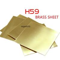 New Brass Metal Thin Sheet Foil Plate Shim Thick 0.2mm 100X100mm 1pcs