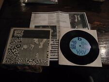 "Beef Trust Number 5 Black Vinyl 7"" EP Skene! 1989 Unplayed"