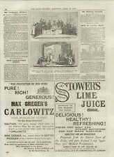 1892 Regimental Scandal Dr Collins Forgery Greek Plays Uppingham Leamington