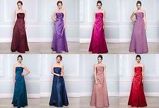BHS Bridesmaid Dress Ella Purple Dusky Pink Merlot Sapphire Ocean Lavender Red
